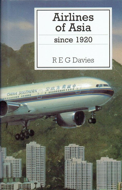 Image for AIRLINES OF ASIA SINCE 1920