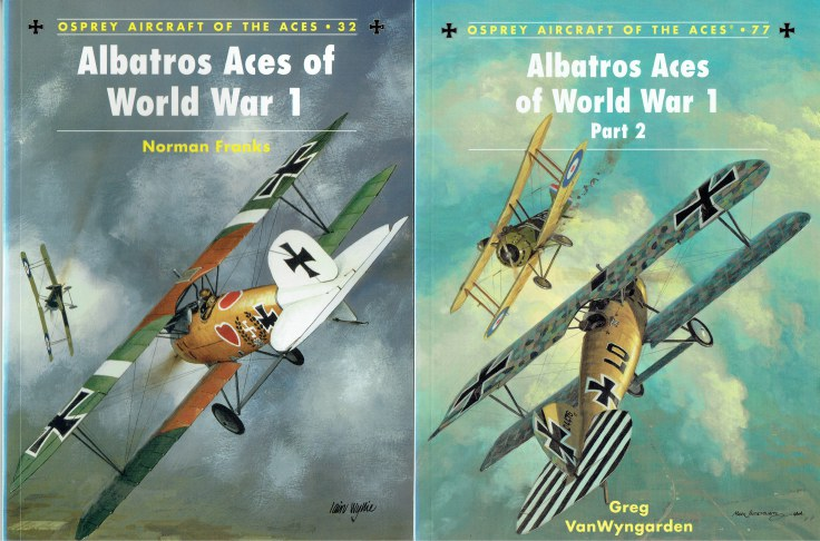 Image for ALBATROS ACES OF WORLD WAR 1 (TWO VOLUME SET)