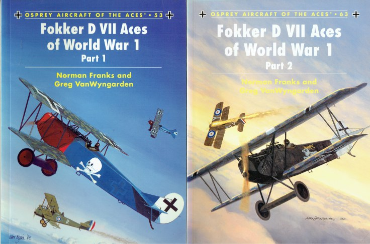 Image for FOKKER D VII ACES OF WORLD WAR 1 : PART 1 + PART 2 (TWO VOLUME SET)