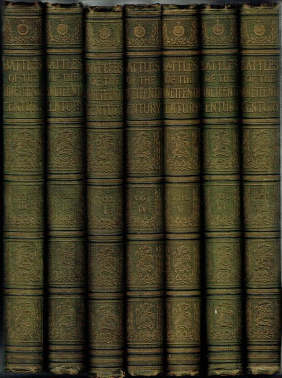 Image for BATTLES OF THE NINETEENTH CENTURY (7 VOLUME SET)