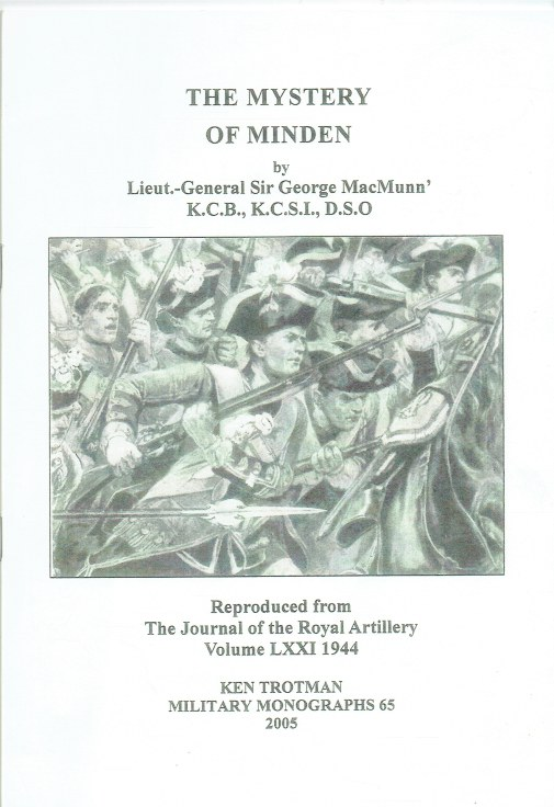 Image for THE MYSTERY OF MINDEN