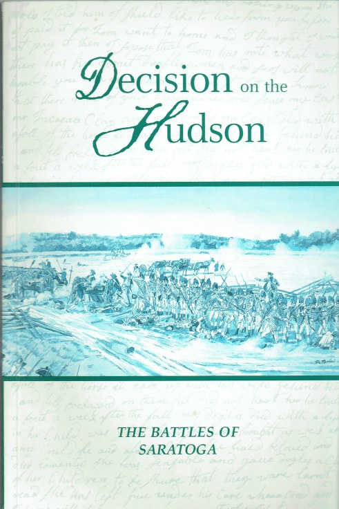 Image for DECISION ON THE HUDSON : THE BATTLES OF SARATOGA