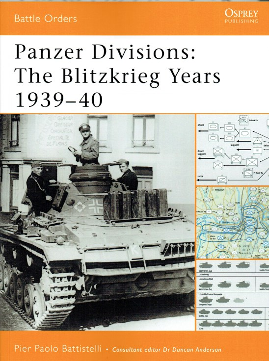 Image for PANZER DIVISIONS: THE BLITZKRIEG YEARS 1939-40